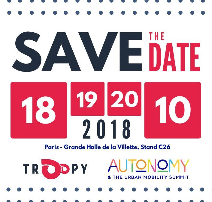 Troopy au salon Autonomy 2018